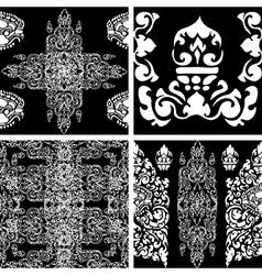 camb set seamless 2 vector image