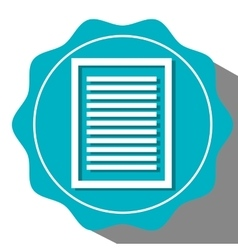 Document or sheet icon vector image