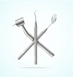 realistic detailed 3d stainless professional vector image