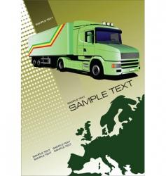Transport background vector