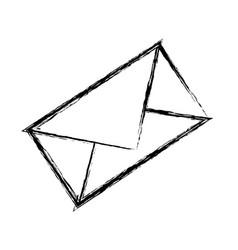 message envelope object vector image