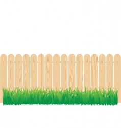 fence circle vector image vector image
