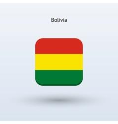 Bolivia flag icon vector