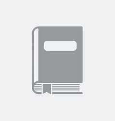 library icon flat clean minimal and isolated with vector image