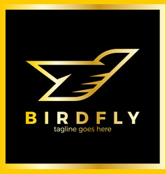 Phoenix bird logo vector