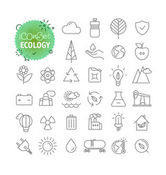 sipmple icons collection web and mobile app vector image vector image