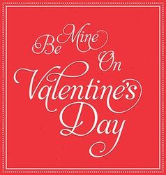 Valentines Deisgn vector image vector image