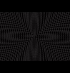 abstract black circle mesh speaker pattern vector image