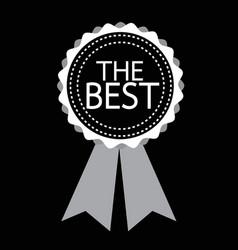 best icon design vector image