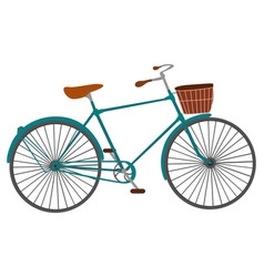 bicycle for men isolated on white background vector image