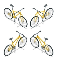 Bicycle isometric New bicycle vector