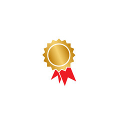 Certificate badge graphic design template vector
