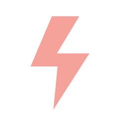 Dangerous energy hazard symbol to security vector