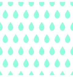 Green Rain White Background vector image