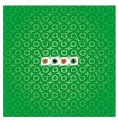 POKER pattern vector image