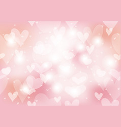valentines day seamless abstract background vector image