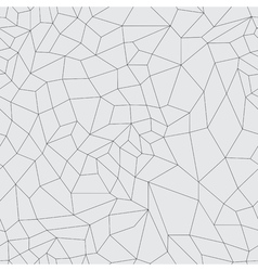 mosaic black grid on a gray background vector image vector image