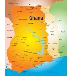 Ghana vector image vector image