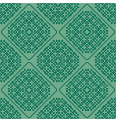 Abstract green seamless vector