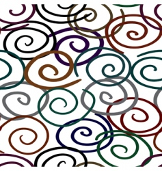 abstract twist line background seamless vector image