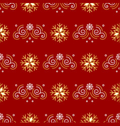 Christmas pattern seamless new year wrapping vector