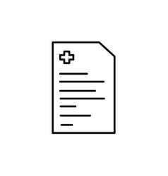 diagnose icon vector image vector image