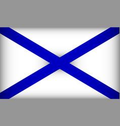 Flag st andrews flag vector