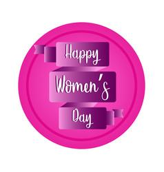 happy women day vector image