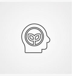 idea icon sign symbol vector image