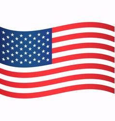 Image american flag vector