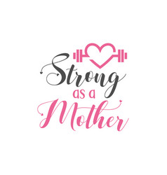 mom quote lettering typography vector image