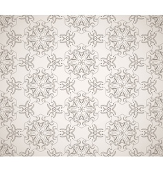 Seamless ornamental ethnicity pattern vector image