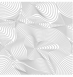 seamless pattern curved lines 3d effect vector image