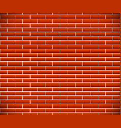 Seamless pattern of dark brickwork brick wall vector