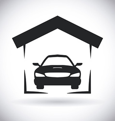 garage design vector image