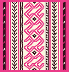 ethnic ornamental seamless pattern vector image vector image