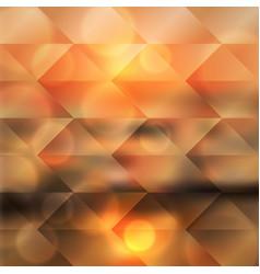 Blurred sea sunset geometric background vector