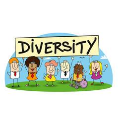 Diversity vector