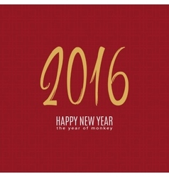happy monkey year vector image