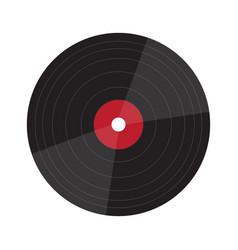 isolated vinyl icon vector image