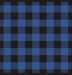 lumberjack plaid seamless pattern vector image