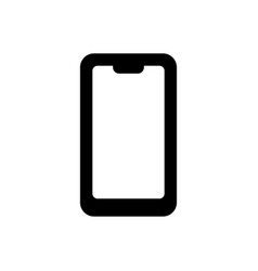 modern icon phone for web site design vector image