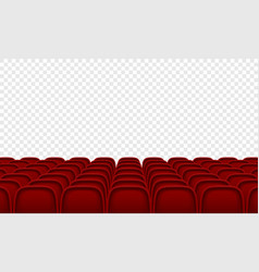 movie citema seat hall interior background vector image