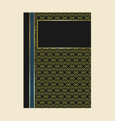 vintage book layouts and design - covers and vector image