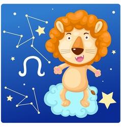Zodiac signs - lion vector