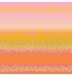 vector abstract square pixel m vector image