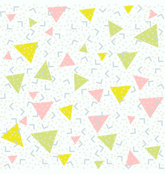Abstract pattern blue background with green pink vector