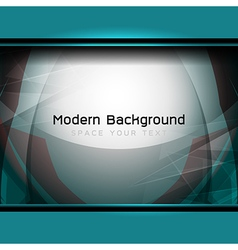 Blue modern background vector