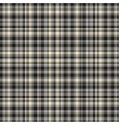 Checkered fabric tartan textile vintage vector image