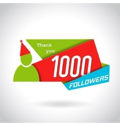 Followers Poster Design vector image